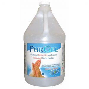 Purgel Gel émollient antibactérien pour les mains 4L | ABC Distribution