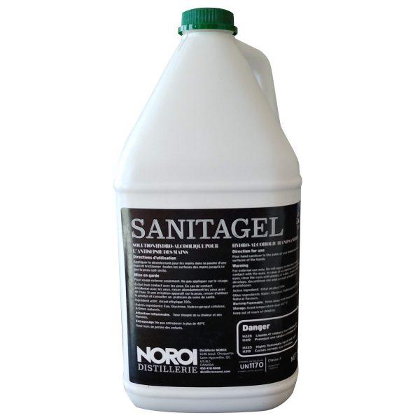 SANITAGEL - gel antibactérien pour les mains (équivalent Purell) 4L | ABC Distribution