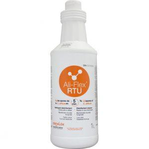 ALI-FLEX RTU Nettoyant désinfectant chloré prêt à utiliser qui tue les spores de la C. difficile en 5 minutes | ABC Distribution