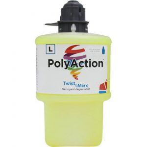Nettoyant dégraissant tout usage POLYACTION pour Twist & Mixx | ABC Distribution