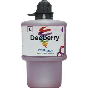 Désodorisant puissant au parfum de baies des champs DEOBERRY pour Twist & Mixx | ABC Distribution