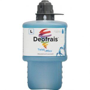 Désodorisant puissant au parfum frais Deofrais pour Twist & Mixx | ABC Distribution