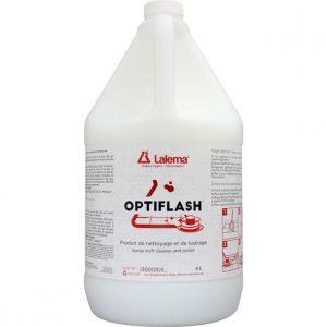 Produit de nettoyage et de lustrage (spray buff) OPTIFLASH | ABC Distribution