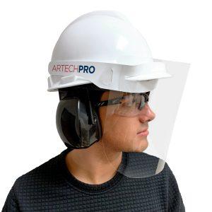 Visières protectrice Pour Casque de Construction Imprimées avec votre Logo | ABC Distribution