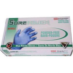 Gants jetables en nitrile SureTouch - Boîte de 100 | ABC Distribution