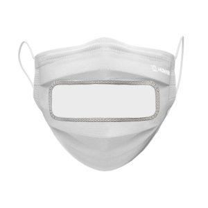 Masques ASTM Niveau 2 avec Fenêtre Fait au Québec - 540 masques | ABC Distribution