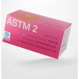 Masque Jetables ASTM Niveau 2 Bleu Aurelia | ABC Distribution
